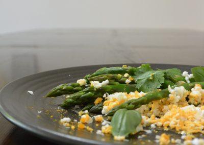 CWS-0001-8 Asparagus and Eggs