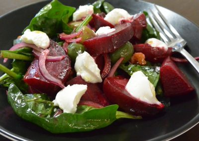 CWS-0049-3 Steamed Beetroot Salad