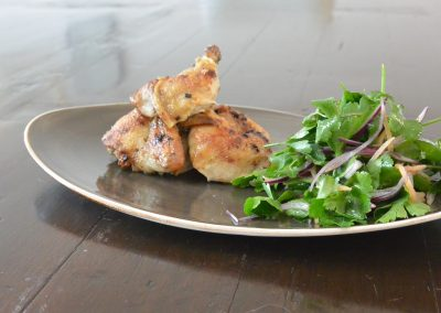 CWS-0113-2 Butterflied Poussin, Cumin, Preserved Lemon and Herbs