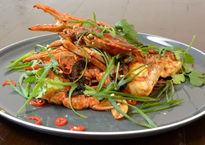 CWS-0121-2 Steamed Chilli Blue Swimmer Crab