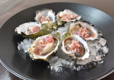 CWS-0143-1 Oysters and Mignonette Dressing