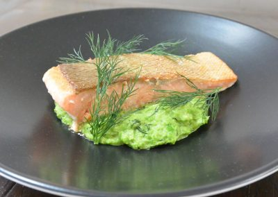 CWS-0144-1 Steamed Ocean Trout and Dill Crushed Peas
