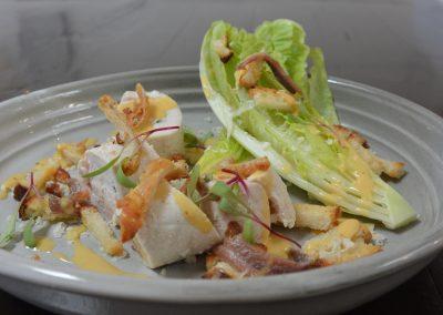 CWS-0147-1 Steamed Chicken Caesar Salad