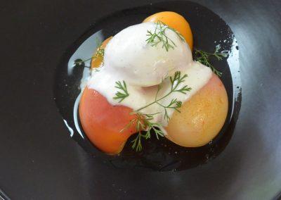 CWS-0152-2 Poached Stonefruit and Saffron Yoghurt