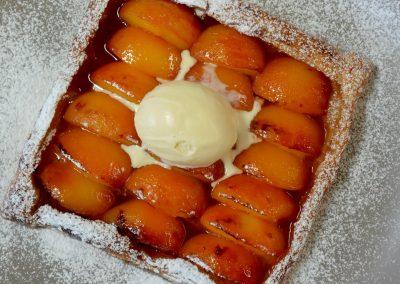 CWS-0166-2 Roasted Nectarine Tart