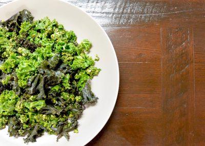 CWS-0178-1 Steamed Kale, Pistachio Pistou