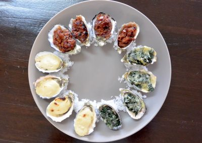 CWS-0222-1 Combi baked oysters, 3 ways