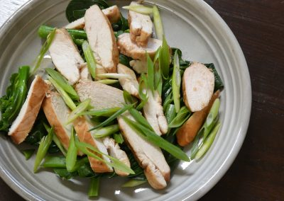 CWS-0271-2 Steamed Chicken with Asian Flavours and Chinese Broccoli