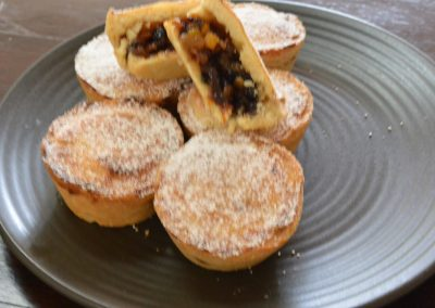 CWS-0278-2 Mince Tarts with Duck Fat Pastry