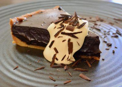 CWS-0286-3 Dark Chocolate Tart