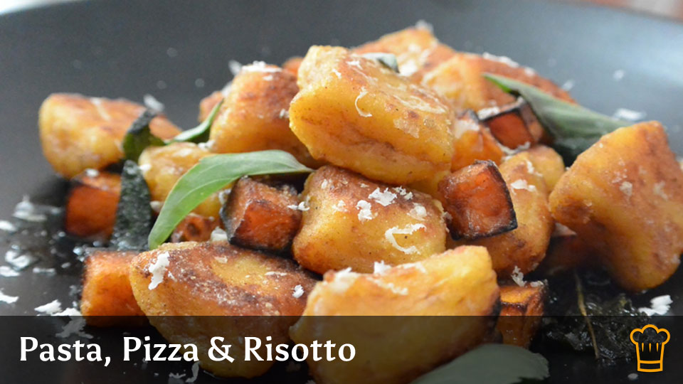 Cooking with Steam - Pizza, Pasta & Risotto Recipe Category