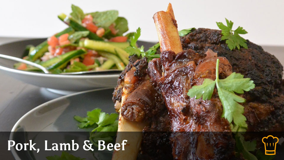 Cooking with Steam - Pork, Lamb & Beef Recipe Category