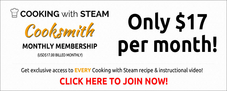 Join Cooking with Steam Today!